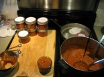 Canning Tomato Paste, August 2012